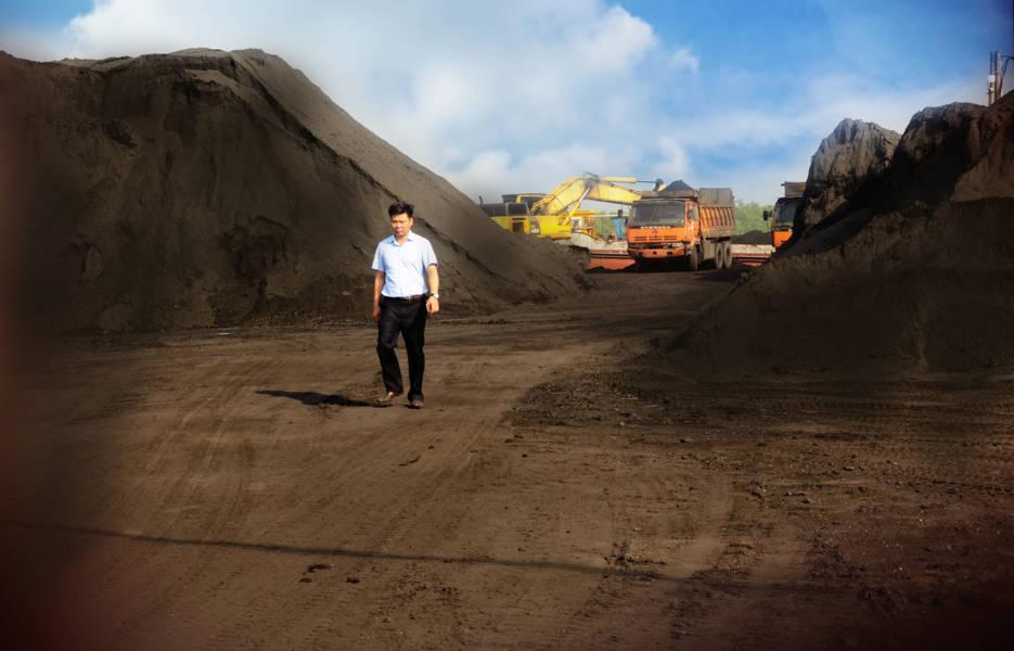 Cảng chế biến than cám 5a Hùng Mạnh